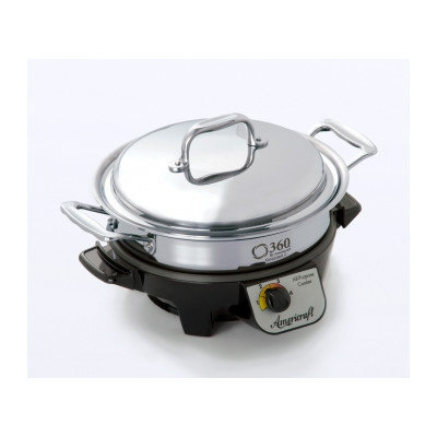 Cookware Gourmet Slow Cooker Size: 22.75