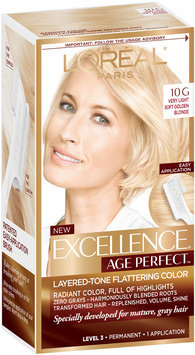 L'Oréal® Paris Excellence® Age Perfect™ Layered-Tone Flattering Color 10G Very Light Soft Golden Blonde 1 Kit