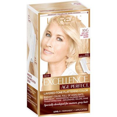 L'Oréal® Paris Excellence® Age Perfect™ Layered-Tone Flattering Color 10G Very Light Soft Golden Blonde 1 Kit