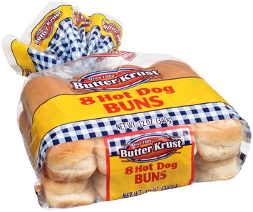 ButterKrust® Hot Dog Buns 8 ct Bag