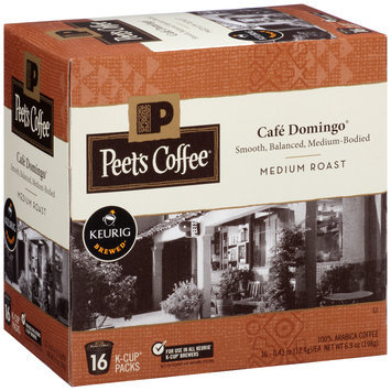 Peet's Coffee® Cafe Domingo® Medium Roast Coffee 1 Single Serve Cups