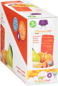 Happy Tot® Organic SuperFoods Baby Food 8-4.22 oz. Pouches