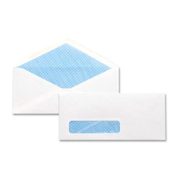Business Source Business Envelopes Security Window Envelopes, No. 10