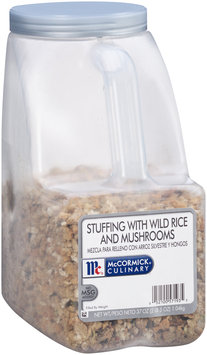McCormick® Culinary™ Stuffing with Wild Rice and Mushrooms 37 oz. Jug