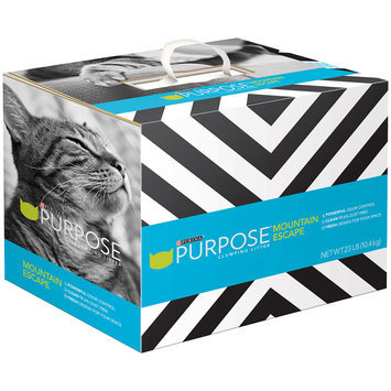 Purina Purpose Mountain Escape Clumping Litter 23 lb. Box