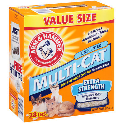 ARM & HAMMER™ Multi-Cat Clumping Litter Extra Strength Unscented