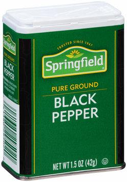 Springfield® Pure Ground Black Pepper