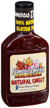 Famous Dave's® Natural Sweet BBQ Sauce