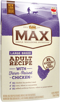 Nutro™ Max™ Large Breed Adult Recipe with Farm-Raised Chicken Dog Food 25 lb. Bag