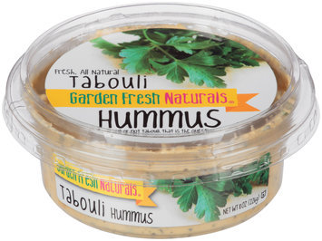 Garden Fresh Natural® Tabouli Hummus 8 oz. Tub
