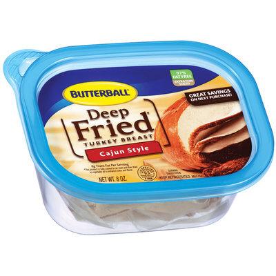 Butterball Deep Fried Cajun Style Turkey Breast 8 Oz Plastic Tub
