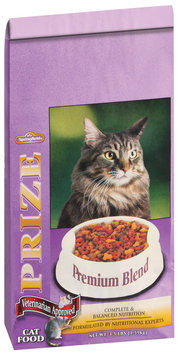 Springfield Prize Premium Blend  Cat Food 3.5 Lb Bag