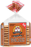 De Wafelbakkers Janssen & Meyer® Maple Pancakes 24 ct Bag