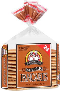 De Wafelbakkers Janssen & Meyer® Maple Pancakes 24 ct Bag