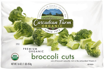 Cascadian Farm® Organic Broccoli Cuts 16 oz. Bag