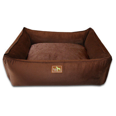 Luca For Dogs Easy-Wash Cover Lounge Donut Dog Bed Size: Medium (36