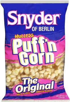 Snyder® of Berlin Popcorn Puffed Hulless 16 oz BAG