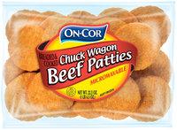 On•Cor® Chuck Wagon Beef Patties 22.5 oz. Package