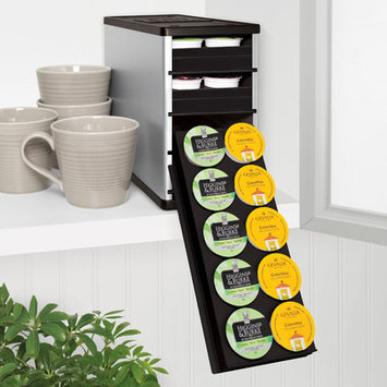 Youcopia 40-c. CoffeeStack K-Cup Holder, Silver