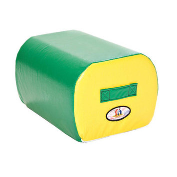 Foamnasium 1066 Cloud Ottoman - Green face or Yellow side