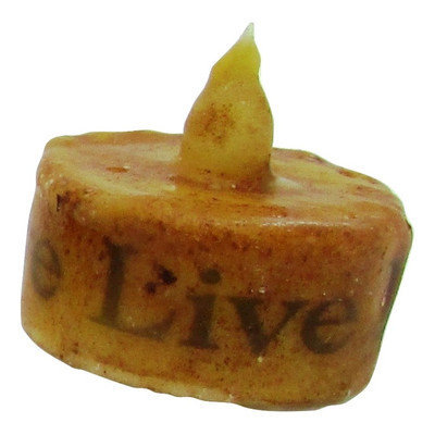 Starhollowcandleco Live Laugh Love Tea Light Candle