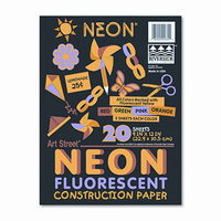 Pacon Creative Products PACON CORPORATION Neon Construction Paper/Pack
