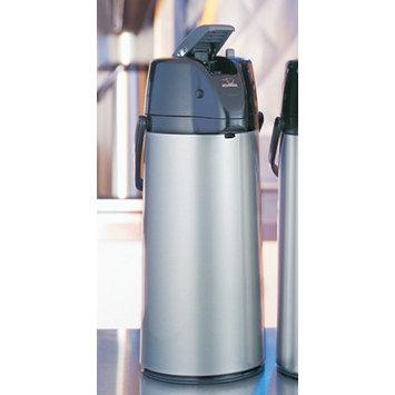 Zojirushi Premier Air Pot Beverage Dispenser - Brushed Stainless Steel