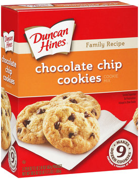 Duncan Hines® Family Recipe Chocolate Chip Cookie Mix