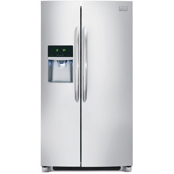 Frigidaire - 182 Cu Ft Top-Freezer Refrigerator - Black