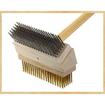 Texas Brush Junior Grill Brush Brush: Stainless/Brass