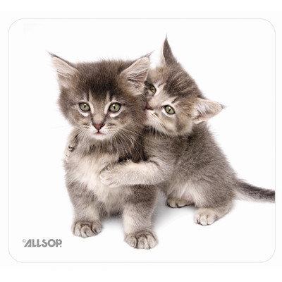 Allsop 30184 Naturesmart Mouse Pad, Kittens