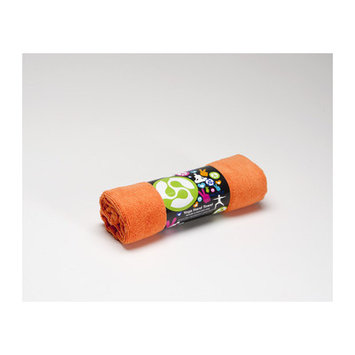 Kulae Yoga Hand Towel Color: Tangerine