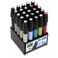 Chartpak SETL 25-Color Landscape Marker Set