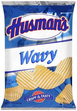 Husman's® Wavy Potato Chips 10 oz. Bag