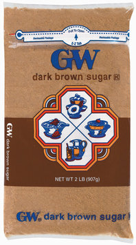 GW Dark Brown Sugar 2 Lb Bag