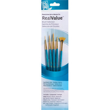 Princeton Brush Set 9118 4-pc Natural Bristle