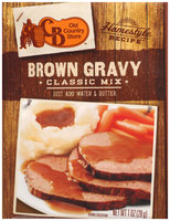 Old Country Store™ Homestyle Recipe™ Brown Gravy Classic Mix 1 oz. Pack