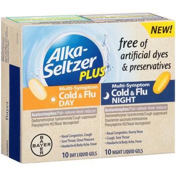 Alka-Seltzer Plus® Day & Night Cold & Flu Multi-Symptom Relief Liquid Gels 20 ct Box