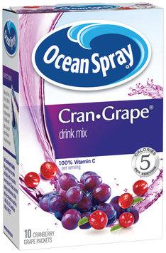 OCEAN SPRAY Cran-Grape Drink Mix 10 CT BOX
