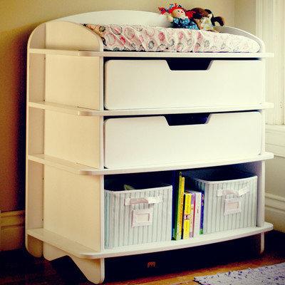 Sodura Aero Dresser / Changing Table Color: White
