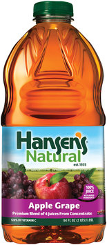 Hansen's® Natural Apple Grape 100% Juice 64 fl. oz. Bottle