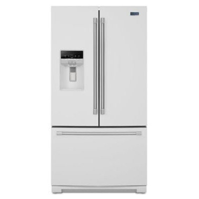 Maytag MFT2776DEH 27.0 Cu. Ft. White French Door Refrigerator
