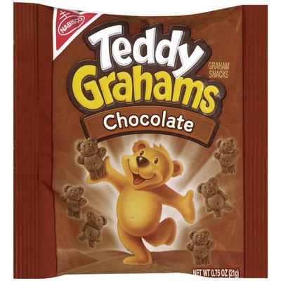Nabisco Teddy Grahams Chocolate Graham Snacks .75 Oz Bag