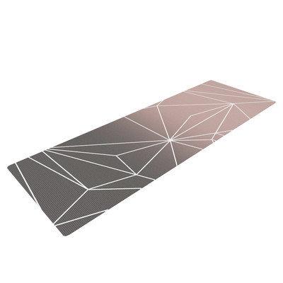 Kess Inhouse Simplicity 2X by Mareike Boehmer Geometric Yoga Mat