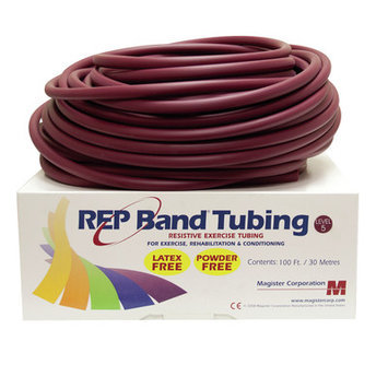 Rep Band Exercise Tubing Resistance: Level 5/Plum