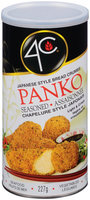 4C® Japanese Style Panko Seasoned Bread Crumbs 8 oz. Canister