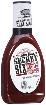 Garland Jack's Secret Six Original Recipe Barbecue Sauce 18 oz. Bottle
