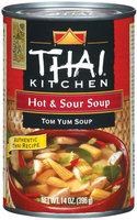Thai Kitchen TK Hot & Sour Soup  Soups 14 Oz Can