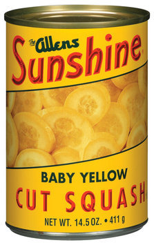 The Allens Sunshine Cut Baby Yellow Squash 14.5 Oz Can