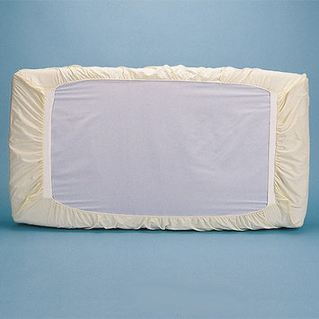 Bargoosehometextiles Natural Cotton Fitted Crib Safety Cover Size: 7